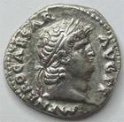 Photo numismatique  Monnaies Empire Romain NERON, NERO Denier, denar, denario, denarius NERO, NERON, denier, Rome en 67.68, Salus, 3.27 grammes, RIC.72 SUPERBE/TTB+ Beau portrait!!