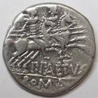 Photo numismatique  Monnaies R�publique Romaine Aelia 138 av Jc Denier, denar, denario, denarius P.AELIUS PAETUS, Denier 138 avant Jc, les Dioscures � droite, 3.79 grammes, RSC.Aelia 3 TTB
