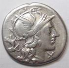 Photo numismatique  Monnaies R�publique Romaine Antestia 146 av Jc Denier, denar, denario, denarius C.ANTESTIUS, Denier 146 avant Jc, les Dioscures � droite, 3.71 grammes, RSC.Antestia 2 TTB