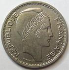 Photo numismatique  Monnaies Monnaies Françaises 4ème république 10 Francs 10 francs Turin 1947 B petite tête, G.811 TTB à SUPERBE