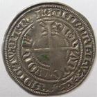 Photo numismatique  Monnaies Monnaies/médailles de Lorraine Charles II de Lorraine Gros CHARLES II, Duché de Lorraine, 1390.1431, Gros, Nancy, 2.22 grammes, Flon.33 TB+