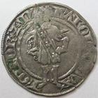 Photo numismatique  Monnaies Monnaies/médailles de Lorraine Charles II de Lorraine Gros CHARLES II, Duché de Lorraine, 1390.1431, Gros, Nancy, 2.40 grammes, Flon 33 TB+