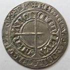 Photo numismatique  Monnaies Monnaies/médailles de Lorraine Charles II de Lorraine Gros CHARLES II, Duché de Lorraine, 1390.1431, Gros, Nancy, 2.32 grammes, Flon.33 TTB
