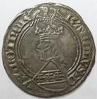 Photo numismatique  Monnaies Monnaies/médailles de Lorraine Charles II de Lorraine Gros CHARLES II, Duché de Lorraine, 1390.1431, Gros à l'Ecu SIERK, 2.39 grammes, Flon.3 TTB Rare!