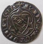 Photo numismatique  Monnaies Monnaies/médailles de Lorraine Raoul Quart de gros RAOUL, 1329.1346, Quart de gros de Nancy, 0.78 grammes, Flon.61 variante, beau TTB Rare!