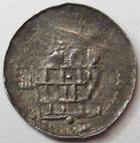 Photo numismatique  Monnaies Monnaies/médailles de Lorraine Abbaye de Saint Goëry, Epinal Denier, denar, denario, denarius Abbaye de Saint Goëry, Epinal, denier XII/XIII em siècle, 0.62 grammes, Flon.13 TB+