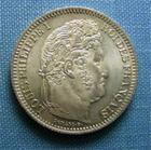 Photo numismatique  Monnaies Monnaies Françaises Louis Philippe 2 Francs LOUIS PHILIPPE Ier 2 Francs 1843 B, gadoury 520 bel exemplaire, SUPERBE+