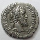Photo numismatique  Monnaies Monnaies en dépôt vente PERTINAX Denier, denar, denario, denarius PERTINAX, Denier, Laetitia Tempor Cos II, 3.41 grammes, TTB à SUPERBE bien centrée! Rare!