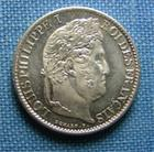 Photo numismatique  Monnaies Monnaies Fran�aises Louis Philippe 1/2 Franc LOUIS PHILIPPE Ier 1/2 Franc 1833 B Rouen, Gadoury 408 bel exemplaire SUPERBE � FDC