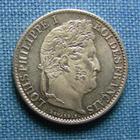 Photo numismatique  Monnaies Monnaies Fran�aises Louis Philippe 1/2 Franc LOUIS PHILIPPE Ier, 1/2 Franc 1833 B Rouen, Gadoury 408 Superbe � Fleur de coin, bel exemplaire !!!