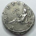 Photo numismatique  Monnaies Monnaies en dépôt vente Empire romain Denier, denar, denario, denarius HADRIANUS, HADRIEN, Denier, le Nil couché à gauche, 3.22 grammes, TTB+