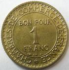 Photo numismatique  Monnaies Monnaies Françaises Troisième République 1 Franc 1 Franc Domard 1921, G.468 TTB à SUPERBE