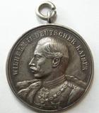 Photo numismatique  Monnaies Médailles Etrangères Allemagne, Deutschland, Germany Medaille de reservistes, Reserve landwehr PRUSSE, PREUSSEN, PRUSSIA, Wilhelm II, 1911, FUR GUTES SCHIESSEN, médaille en argent (950) avec bélière, TTB+