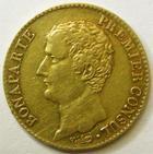 Photo numismatique  Monnaies Monnaies Française en or Consulat 20 Francs or Bonaparte premier consul, 20 francs or AN 12 A, G.1020 Bon TTB