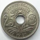 Photo numismatique  Monnaies Monnaies Françaises Troisième République 25 centimes Lindauer 25 centimes Lindauer 1930, G.380 SUPERBE+
