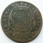 Photo numismatique  Monnaies Jetons Bourgogne Jeton cuivre/laiton BOURGOGNE, LOUIS XV, Jeton 30 mm, Comitia Burgundiae 1749, F.9851 TB+