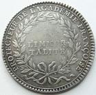 Photo numismatique  Monnaies Jetons Academies Jeton argent LOUIS XV, Jeton argent 29 mm, Protecteur de l' Academie Française, TTB