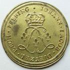 Photo numismatique  Monnaies Jetons Rechenpfennig Louis XV RECHENPFENNIG, LOUIS XV, 26 mm, IOHAN IACOB, TTB