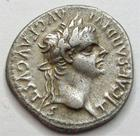 Photo numismatique  Monnaies Empire Romain TIBERE, TIBERIUS, TIBERIO Denier, denar, denario, denarius TIBERIUS, TIBERE, denier, Lyon apr�s 16 ap.Jc, Livie assise, 3.63 grammes, RIC.30 TTB+