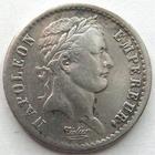 Photo numismatique  Monnaies Monnaies Françaises 1er Empire Demi franc NAPOLEON Ier, demi franc 1808 A Paris, G.398 Traces de néttoyage sinon TTB