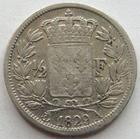 Photo numismatique  Monnaies Monnaies Fran�aises Charles X 1/2 Franc CHARLES X, 1/2 franc 1829 A, G.402 TB � TTB