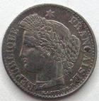 Photo numismatique  Monnaies Monnaies Françaises Deuxième République 20 Cmes 20 centimes type Cérès 1851 A, G.303 TTB