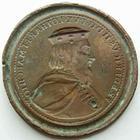 Photo numismatique  Monnaies Monnaies/médailles de Lorraine Saint Urbain, ou successeurs Epreuve uniface LORRAINE, Epreuve uniface 48 mm, Saint Urbain ou successeurs, Frédericus II, TTB