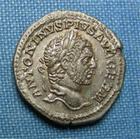 Photo numismatique  Monnaies Empire Romain 3ème Siècle CARACALLA Denier, denar, denario, denarius CARACALLA, denier frappé à Rome en 216, vénus à gauche, Ric 312 d Superbe