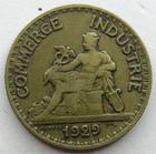 Photo numismatique  Monnaies Monnaies Françaises Troisième République 50 Centimes 50 centimes (bon pour) Domard 1929, G.421 TTB