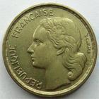 Photo numismatique  Monnaies Monnaies Françaises 4ème république 10 Francs 10 Francs Guiraud 1955, G.812 TTB+