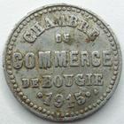 Photo numismatique  Monnaies Monnaies de nécéssité Algerie, Algeria 5 Centimes Algerie, La Bougie, chambre de commerce, 5 centimes 1915, E.10.1 TB à TTB