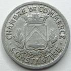 Photo numismatique  Monnaies Monnaies de nécéssité Algerie, Algeria 10 Centimes Algerie, Constantine, chambre de commerce, 10 centimes 1922, E.10.2 TTB