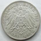 Photo numismatique  Monnaies Monnaies étrangères Allemagne Baden 3 Mark, Drei mark Allemagne Baden, deutschland Baden, drei mark Friedrich II,  3 mark 1912 G, J.39 TTB+