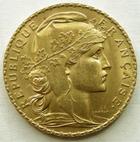 Photo numismatique  Monnaies Monnaies Française en or Troisième République 20 Francs or 20 Francs or Coq 1911, TTB à SUPERBE