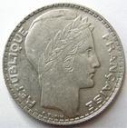 Photo numismatique  Monnaies Monnaies Françaises Troisième République 10 Francs 10 francs Turin 1932, G.801 petites traces sinon SUPERBE