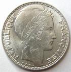 Photo numismatique  Monnaies Monnaies Françaises Troisième République 10 Francs 10 francs Turin 1933, G.801 petites traces sinon SUPERBE
