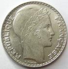 Photo numismatique  Monnaies Monnaies Françaises Troisième République 10 Francs 10 francs Turin 1929, G.801 petites traces sinon SUPERBE