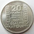Photo numismatique  Monnaies Monnaies Fran�aises Troisi�me R�publique 20 Francs 20 francs Turin 1933 Rameaux long, G.852 SUPERBE