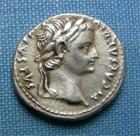 Photo numismatique  Monnaies Empire Romain 1er Si�cle TIBERE Denier, denar, denario, denarius TIBERE, empire romain, denier frapp� � Lyon en 15.37, beau style de portrait! Cohen 16 TTB+