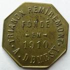 Photo numismatique  Monnaies Monnaies de nécéssité Remiremont 15 Centimes REMIREMONT, Trianon, A.Demesy, maison fondé en 1910, A.Demesy, 15 centimes, Elie manque TTB à SUPERBE