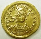 Photo numismatique  Monnaies Monnaies Byzantines 5 em siècle Solidus, solidii LEO I, LEON I, Solidus, Constantinople, Victoria Auggg, 4.47 grammes, RIC.285 SUPERBE/SUPERBE+