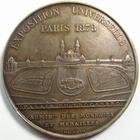 Photo numismatique  Monnaies Médailles Exposition universelle Médaille bronze EXPOSITION UNIVERSELLE, PARIS 1878, Administration des monnaies et médailles, gravé par Oudiné, bronze poinçon abeille, 51 mm, SUPERBE+