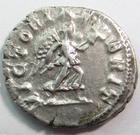 Photo numismatique  Monnaies Empire Romain CARACALLA Denier, denar, denario, denarius CARACALLA, Denier Rome en 210.213, Victoriae Brit, 2.72 grammes, RIC.231a TTB