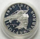 Photo numismatique  Monnaies Monnaies Françaises Cinquième république 10 francs Roland Garros argent BE 10 francs Roland Garros 1988, Argent qualité