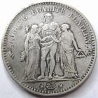 Photo numismatique  Monnaies Monnaies Françaises Deuxième République 5 Francs II em République, 5 francs type Hercule 1848 A Paris, G.633 TB à TTB