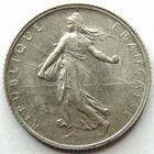Photo numismatique  Monnaies Monnaies Françaises Troisième République 1 Franc 1 franc semeuse de Roty 1910, G.467 TTB+