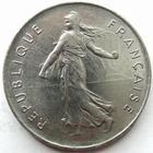 Photo numismatique  Monnaies Monnaies Fran�aises Cinqui�me r�publique 5 Francs 5 francs semeuse 1977, G.771 SUPERBE