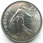 Photo numismatique  Monnaies Monnaies Fran�aises Cinqui�me r�publique 5 Francs 5 francs semeuse 1987, G.771 BU