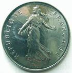 Photo numismatique  Monnaies Monnaies Fran�aises Cinqui�me r�publique 5 Francs 5 francs semeuse 2001