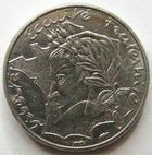Photo numismatique  Monnaies Monnaies Françaises Cinquième république 10 Francs 10 francs Jimenez 1986, Variété avec la Bretagne touchant le listel, G.824 SUPERBE